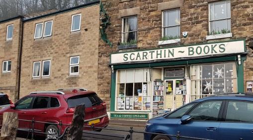 Scarthin Books, Cromford.