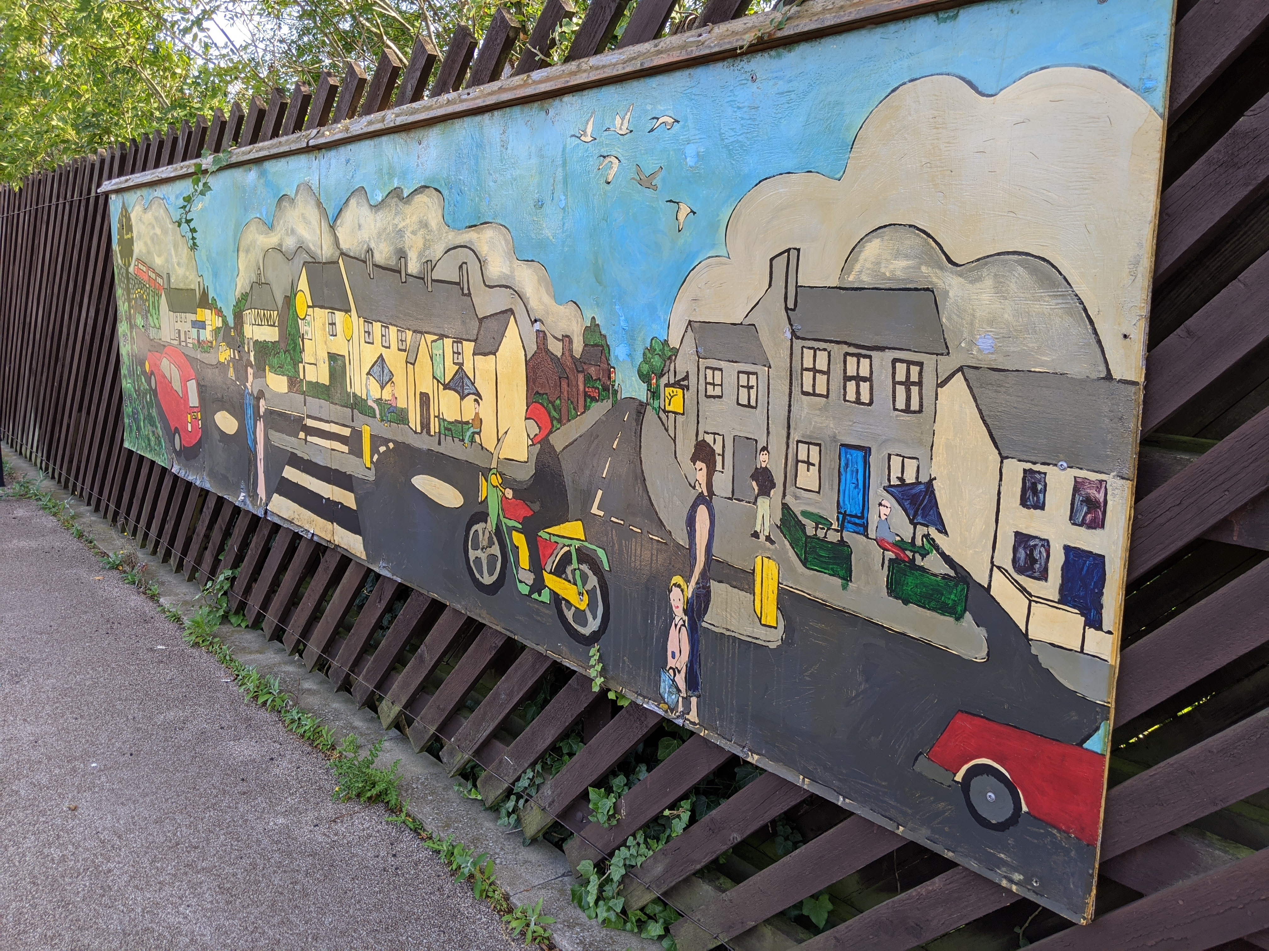 Another mural of Willington.